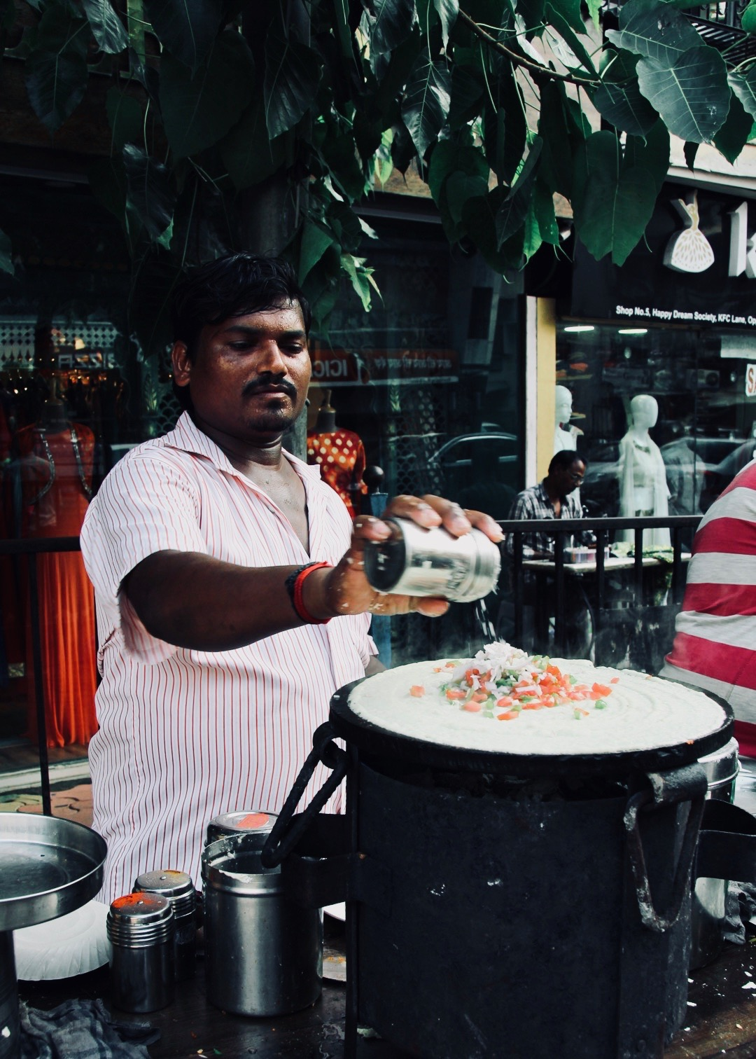 Linking Road Dosa Stall near Bandra