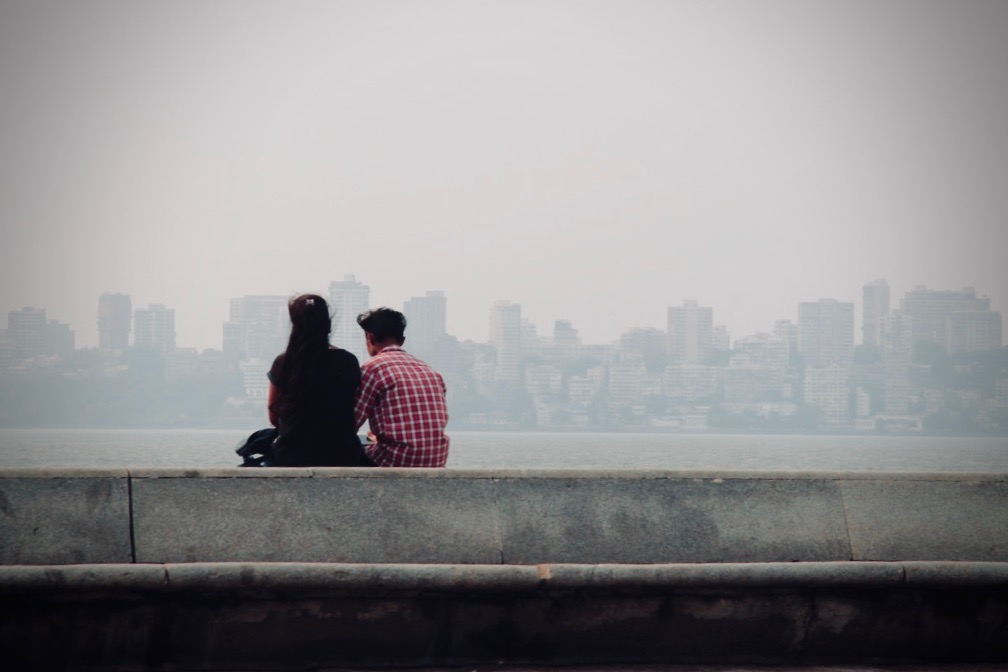 Marine Drive as a romantic spot