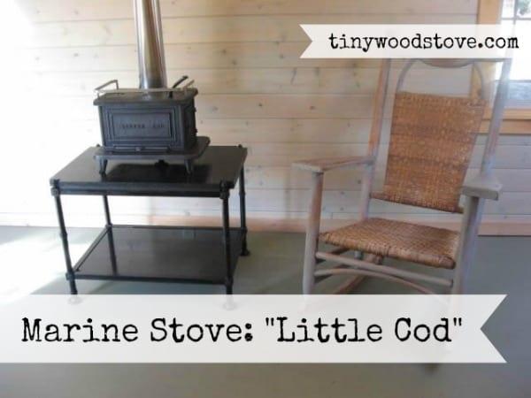Tiny Wood Stove Little Cod