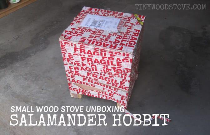 Hobbit Stove Unboxing