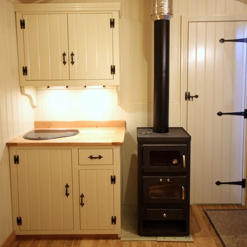 tiny house oven. Wood Stove With A Baking Oven In Tiny House