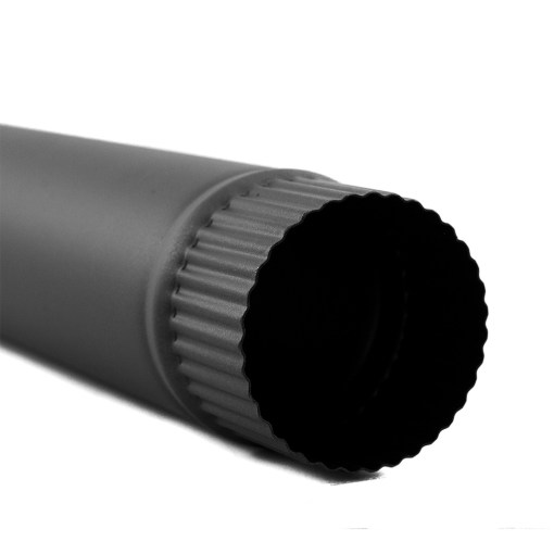 3 Inch Single Wall Stovepipe Bottom