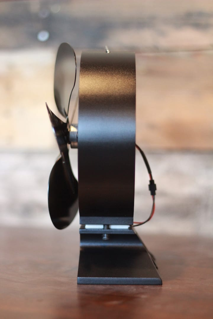 Heat Powered Stove Fan 260cfm Tiny Wood Stove