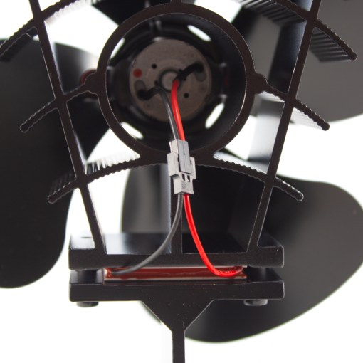 180 CFM Heat Powered Stove Fan Thermoelectric Mechanism