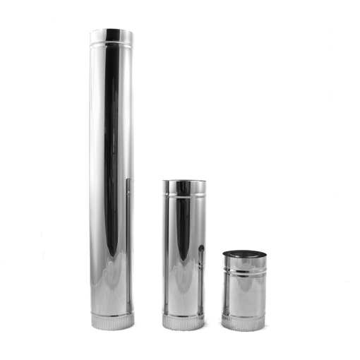 4 inch double-wall insulated class A pipe for wood stoves