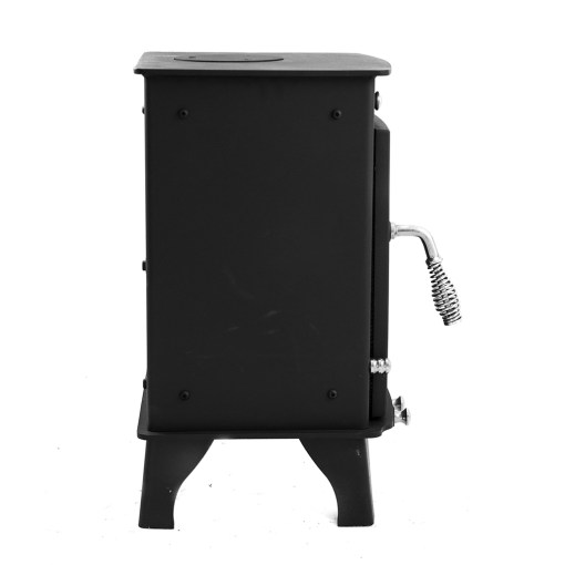 Dwarf 4kW Small Wood Stove left side