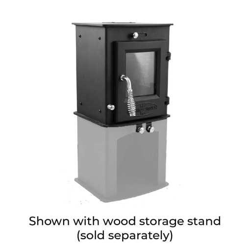 Dwarf 3kW Standard with Wood Storage Stand