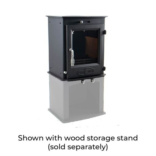 Dwarf 5kW with Wood Storage Stand