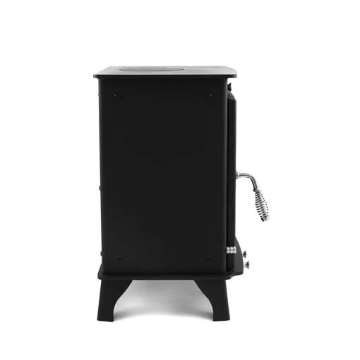 Dwarf 5kW Small Wood Stove Left Side