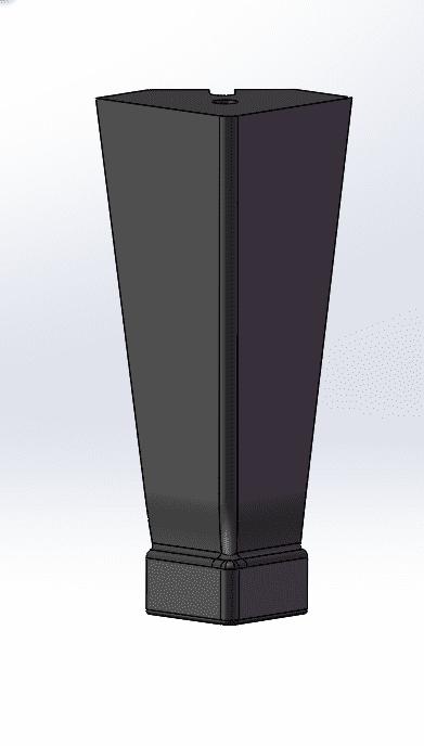 DWARF tall cast iron leg 2