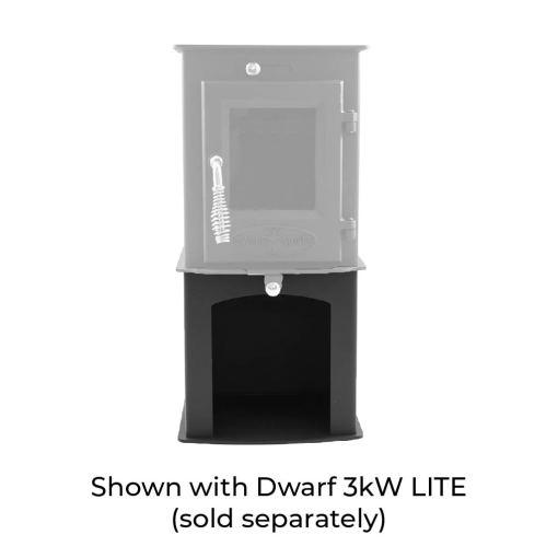 3kW wood storage stand with 3kW LITE