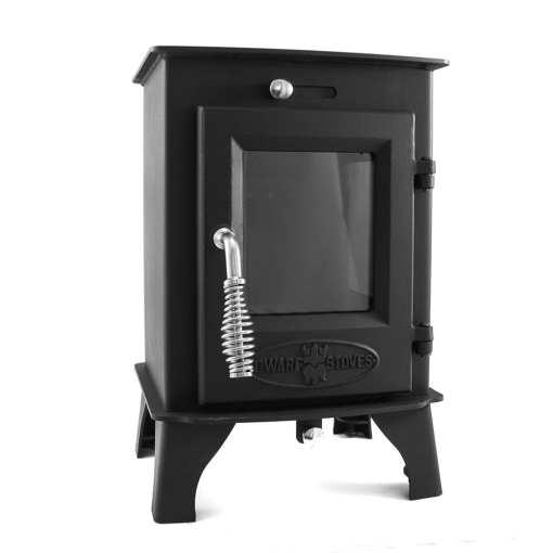 Dwarf 3kW LITE lightweight small wood stove