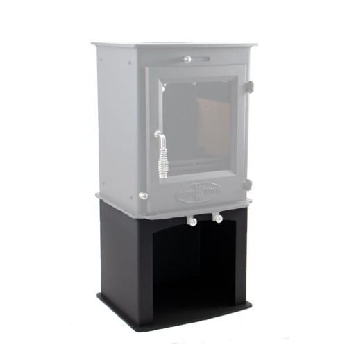 5kW Wood Storage Stand with Dwarf 5kW Stove