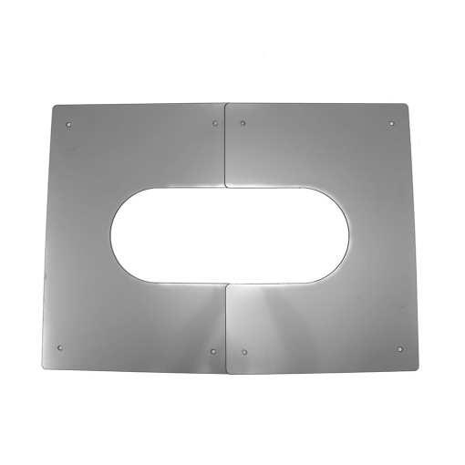 4 inch interior ceiling trim plate