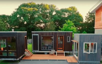 "Tiny House Big Living S6E9 – ""Tiny Tech Compound"""