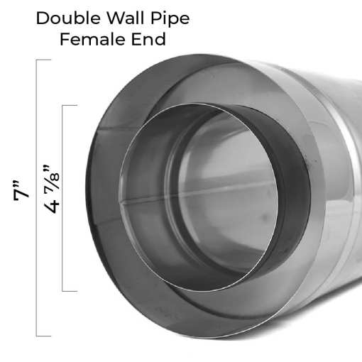 5 Inch Insulated Pipe Bottom Dimensions