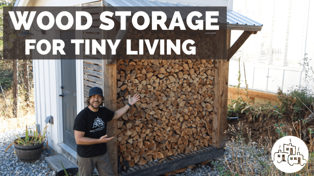 6 Wood Storage Solutions for Tiny Living
