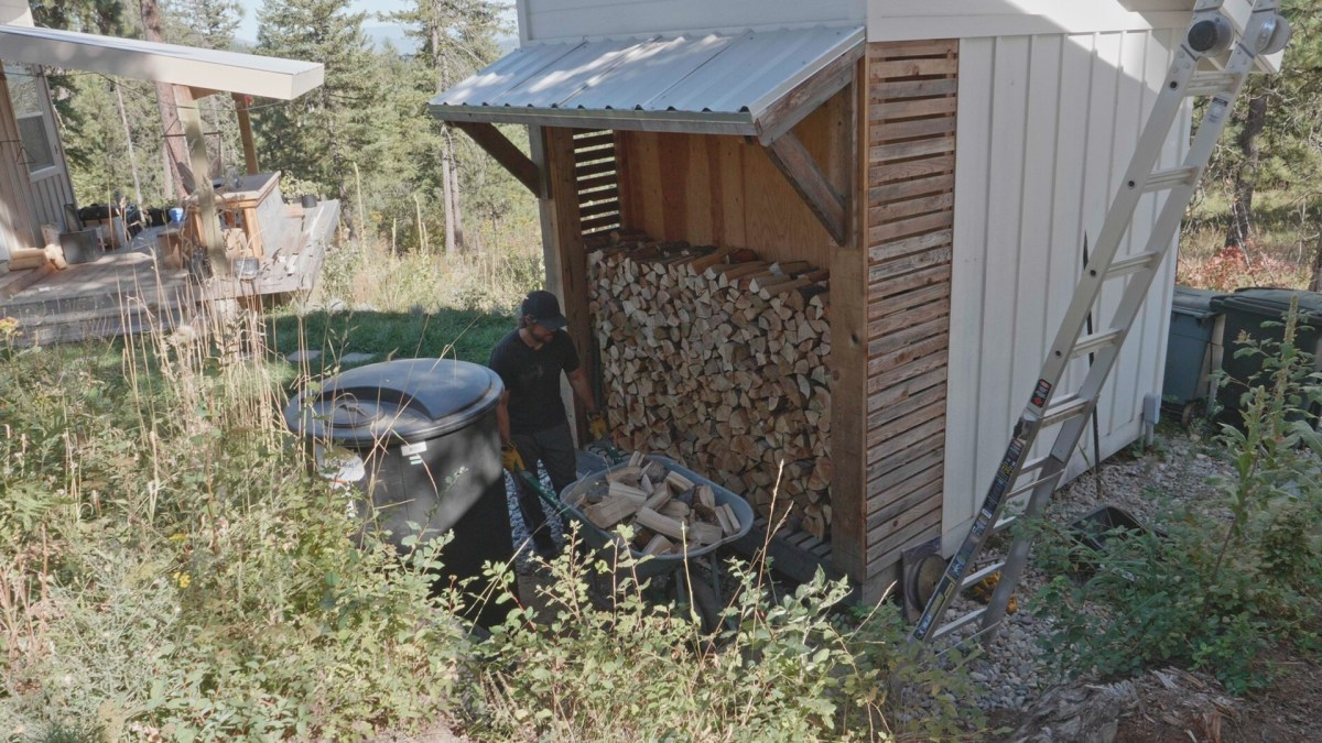 Woodshed Firewood Storage