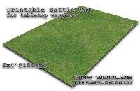 Wargames Battle Mat 6'x4' - Highlands (011) - Tiny Worlds ...