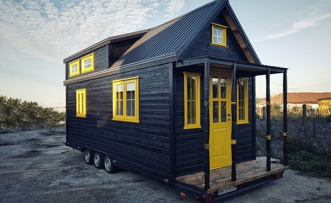 Tiny House On Wheels In Europe For Sale More At Tiny