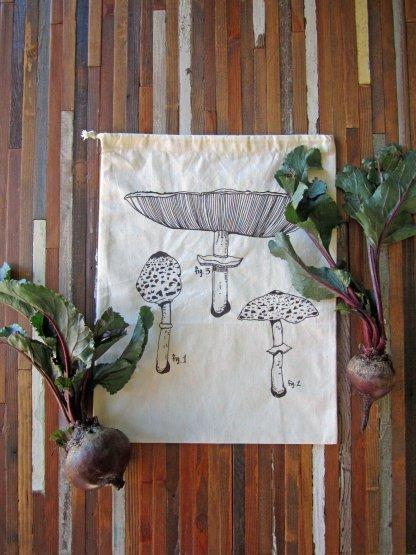 Mushroom Reusable Produce Bag