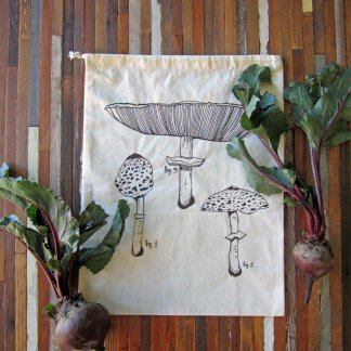 Mushroom Reusable Produce Bag