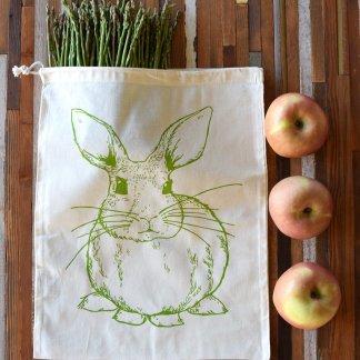 Rabbit Reusable Produce Bag