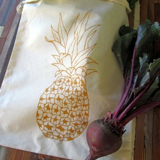 Pineapple Reusable Produce Bag