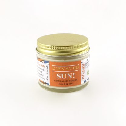 organic zero waste sunscreen