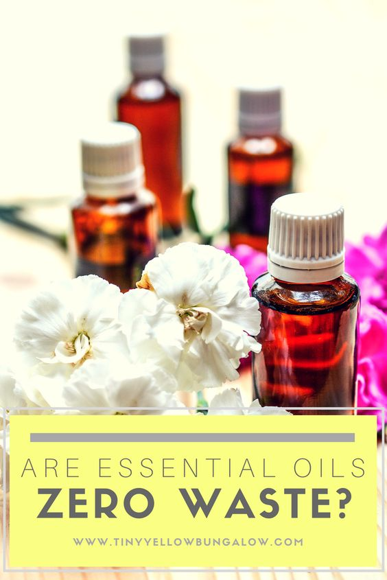 are essential oils zero waste