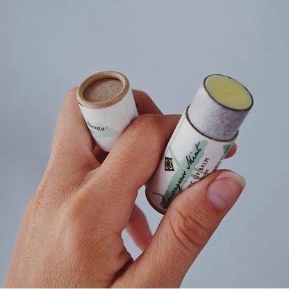 zero waste lip balm