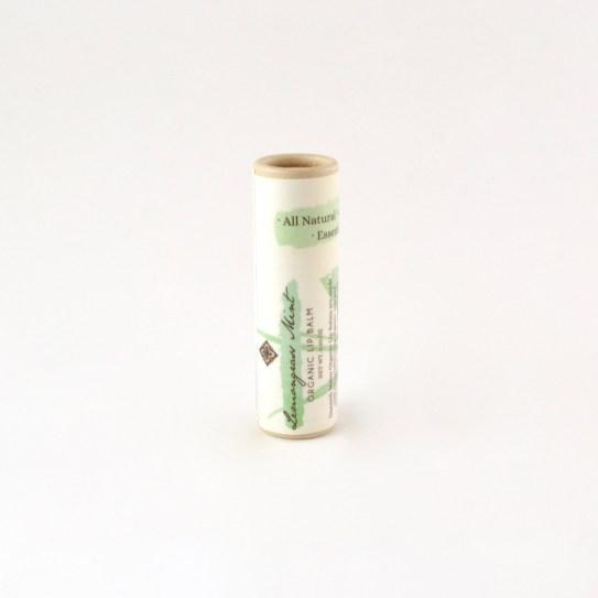 Vegan Organic Lip Balm in Biodegradable Tube