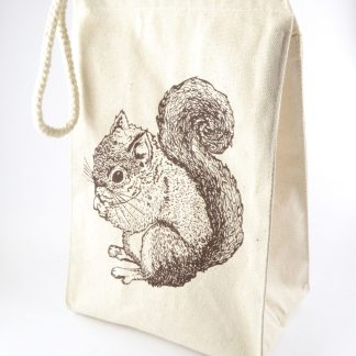squirrel lunch bag