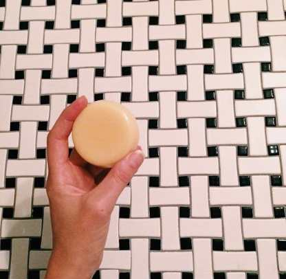 plastic free lotion bar