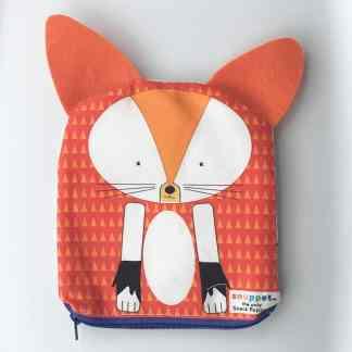 fox reusable snack bag