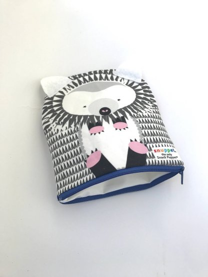 hedgehog reusable snack bag