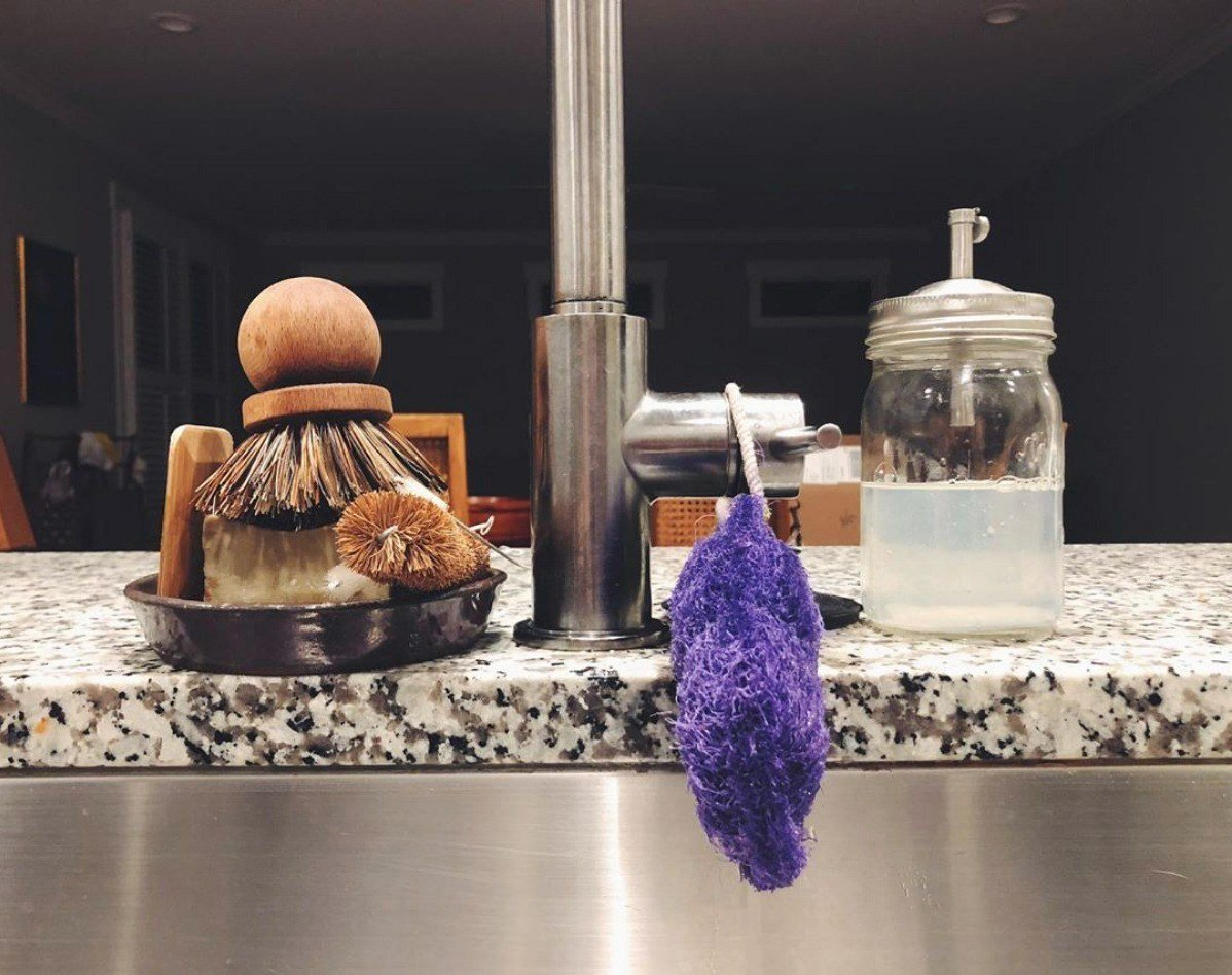 zero waste sink essentials