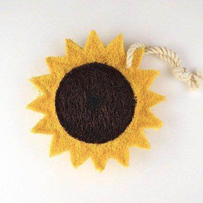 sunflower natural kitchen loofah scrubber