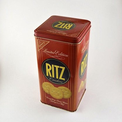 Vintage Ritz Crackers Tin
