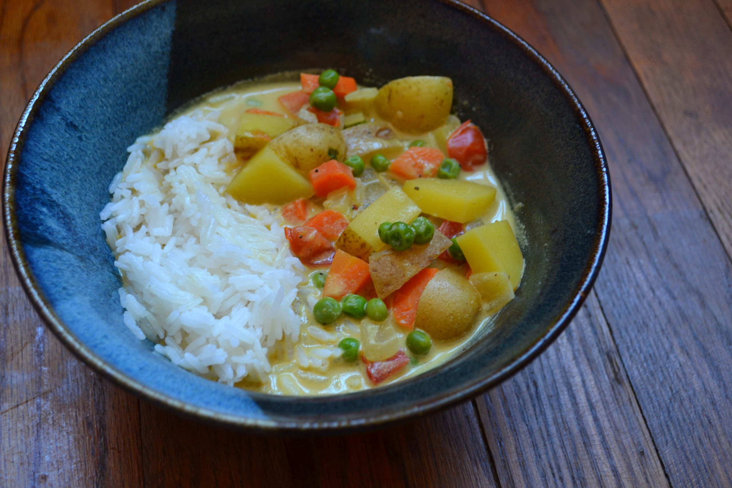 vegan veggie curry recipe