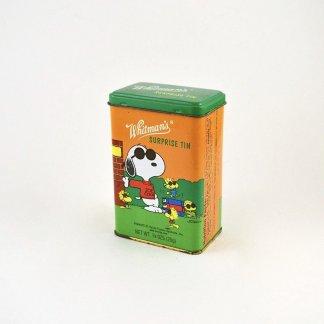 Vintage Snoopy Metal Tin