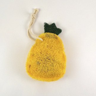 pineapple natural loofah kitchen scrubber