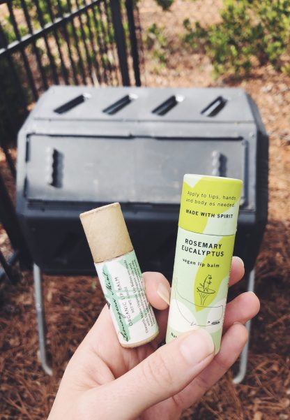 compostable lip balm