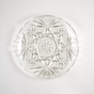 Simple Glass Vintage Dish