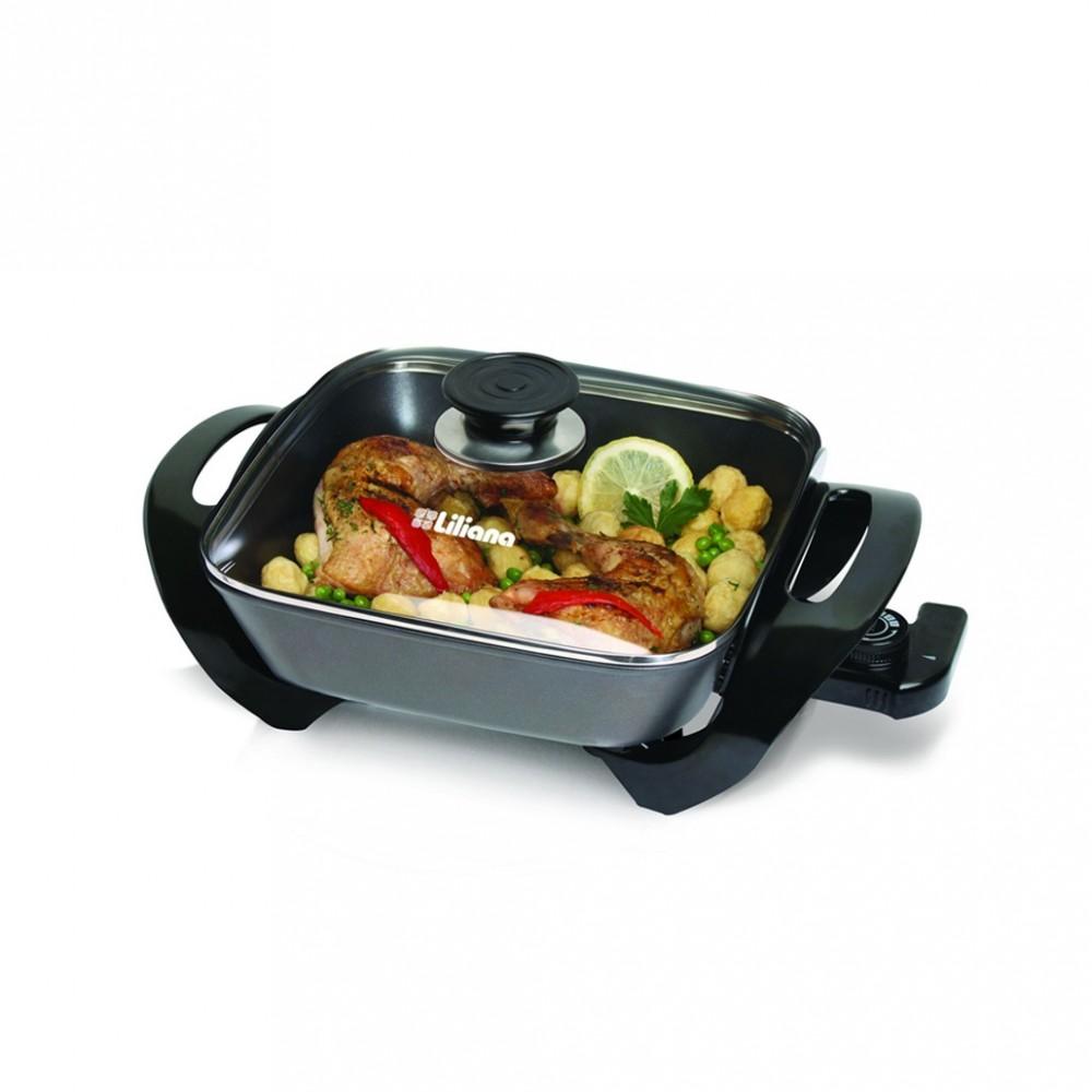 Cocina Electrica Grill Liliana Ak100 Kitchinet 1500w 7 En 1  Tio Musa