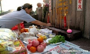 Hari Ceng Beng Festival Ching Ming  TionghoaINFO