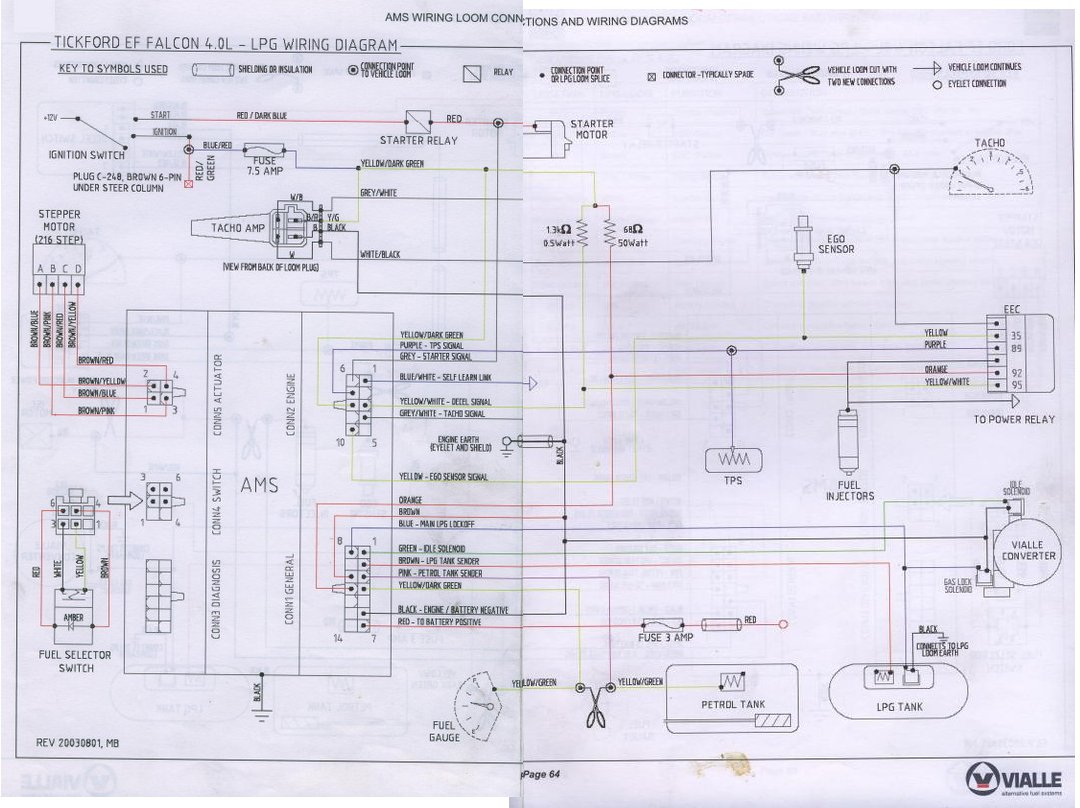 El Falcon Wiring Diagram - Car Wiring Diagrams Explained •
