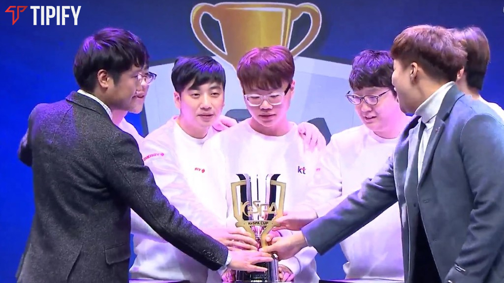 KT Rolster Is Back; Wins KeSPA Cup - Tipify