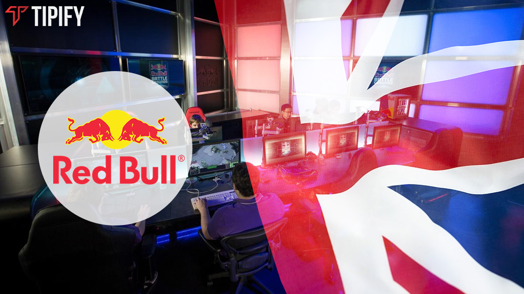 Red Bull Partners With Newegg For Largest Esports Studio - Tipify