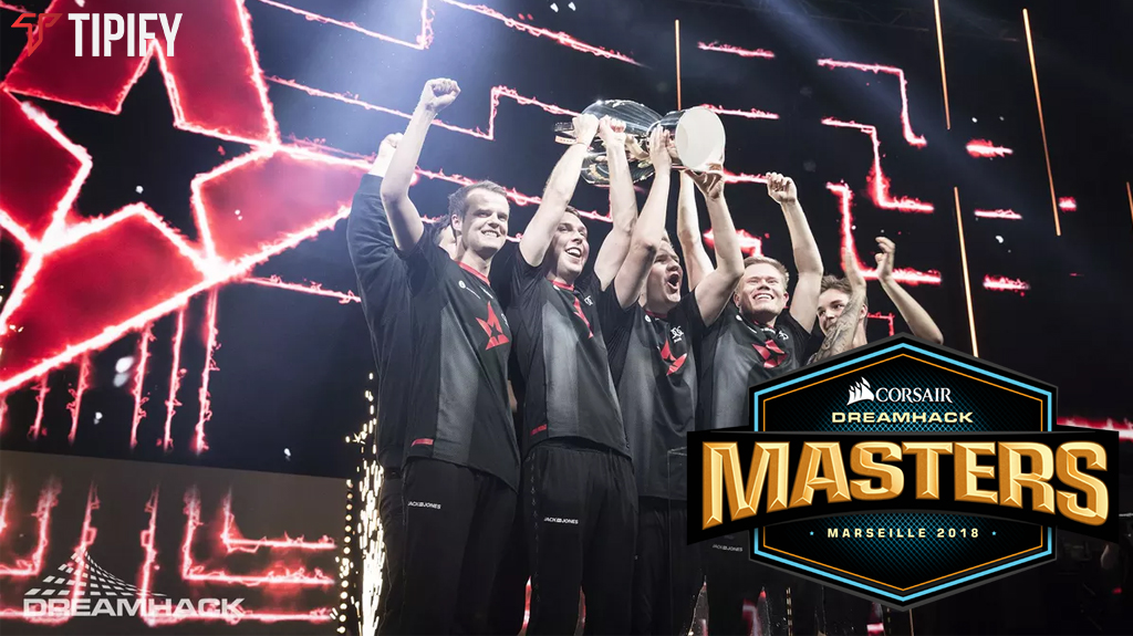 Astralis Bags DreamHack Masters Marseille 2018 Title - Tipify